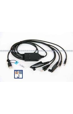 پروگرمر 5 کابله USB بیسیم واکی تاکی مجاز
